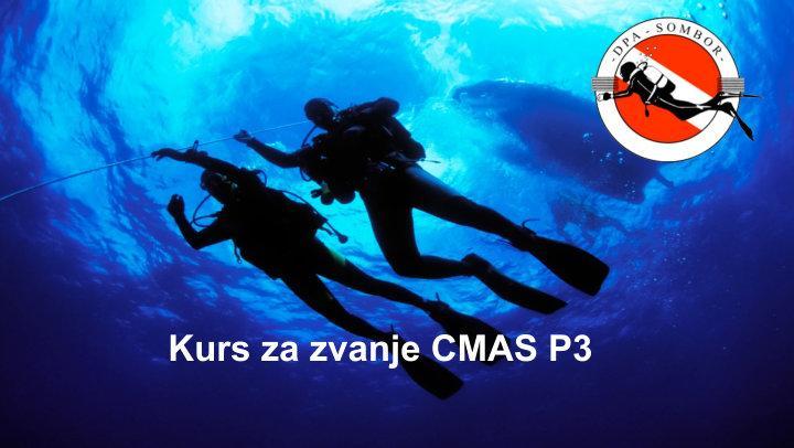Kurs za zvanje CMAS P3 - DPA Sombor
