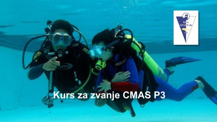 Kurs za zvanje CMAS P3 - RK Spartak3