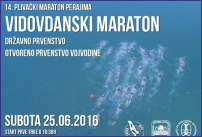 14-ti plivački Vidovdanski maraton perajima - 25.06.2016
