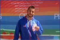 Andrej Matić je osvojio drugo mesto u disciplini 4 km u plivanju perajima na Med