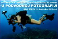 Podvodna fotografija - otvoreni kup Republike Srbije i prvenstvo Vojvodine | Bel