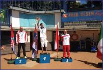 Branko Petrović - osvaja zlatnu medalju i postavlja novi CMAS svetski rekord