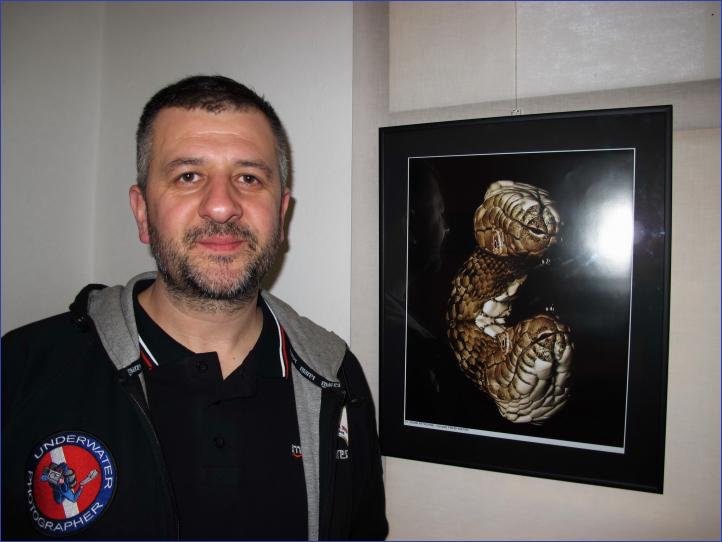 Jovan Petrovski sa svojom pobedničkom fotografijom