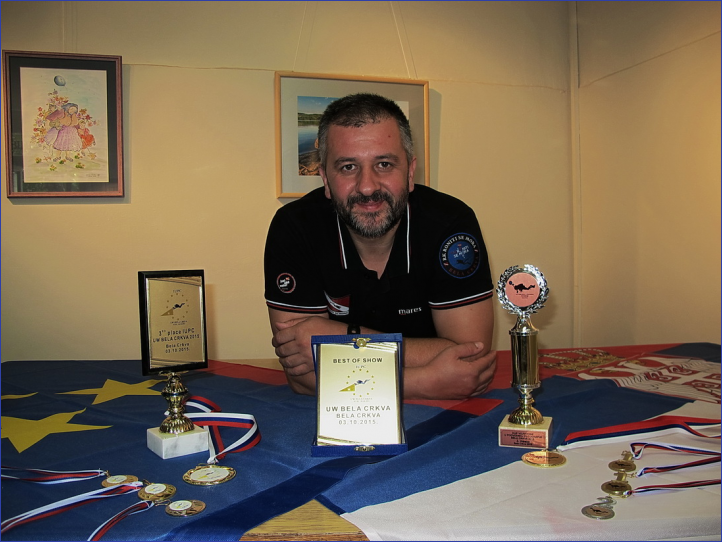 BEST OF SHOW - Jovan Petrovski RK Roniti se Mora – Bela Crkva -  Srbija