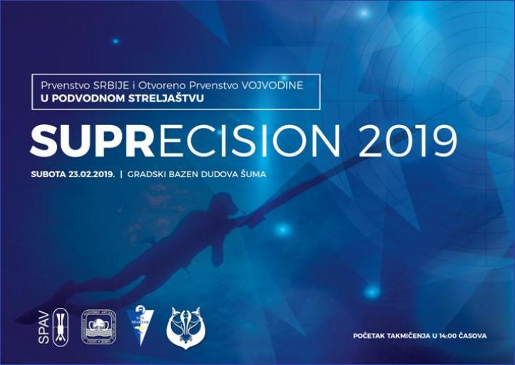 Prvenstvo Srbije i otvoreno prvenstvo Vojvodine u podvodnom streljaštvu SUPRECIS