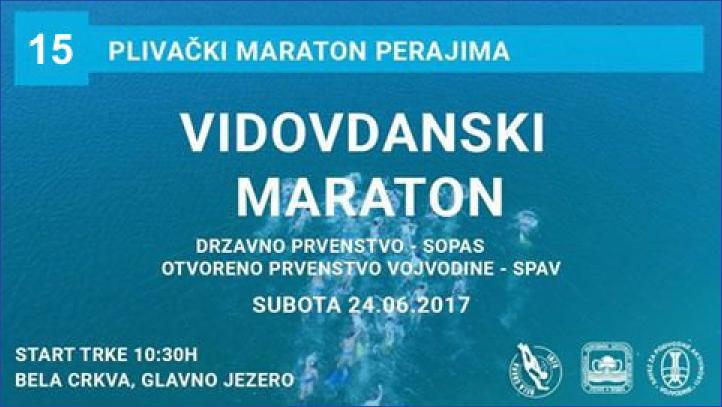 15-ti plivački Vidovdanski maraton perajima - 24.06.2017
