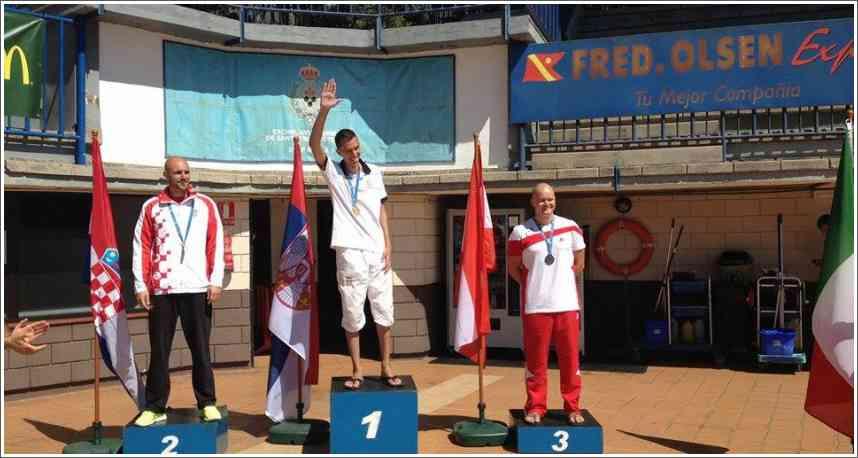 Branko Petrović - postavio nov CMAS svetski rekord