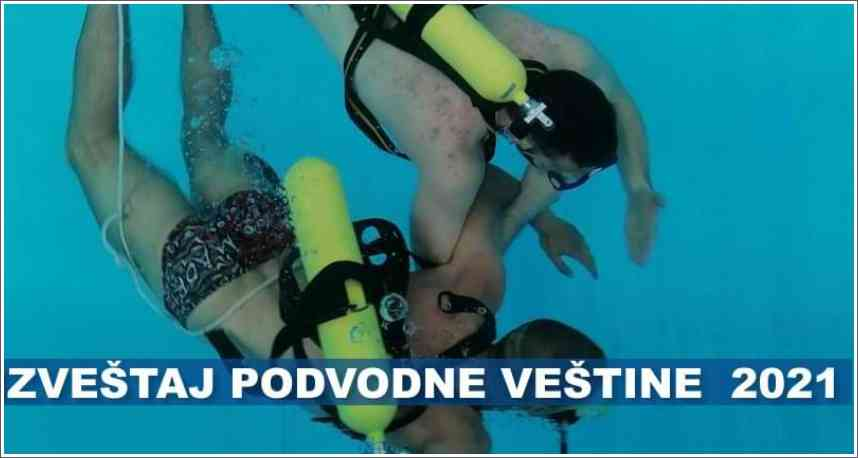 Izveštaj sa takmičenja - Podvodne veštine - Sombor 2021