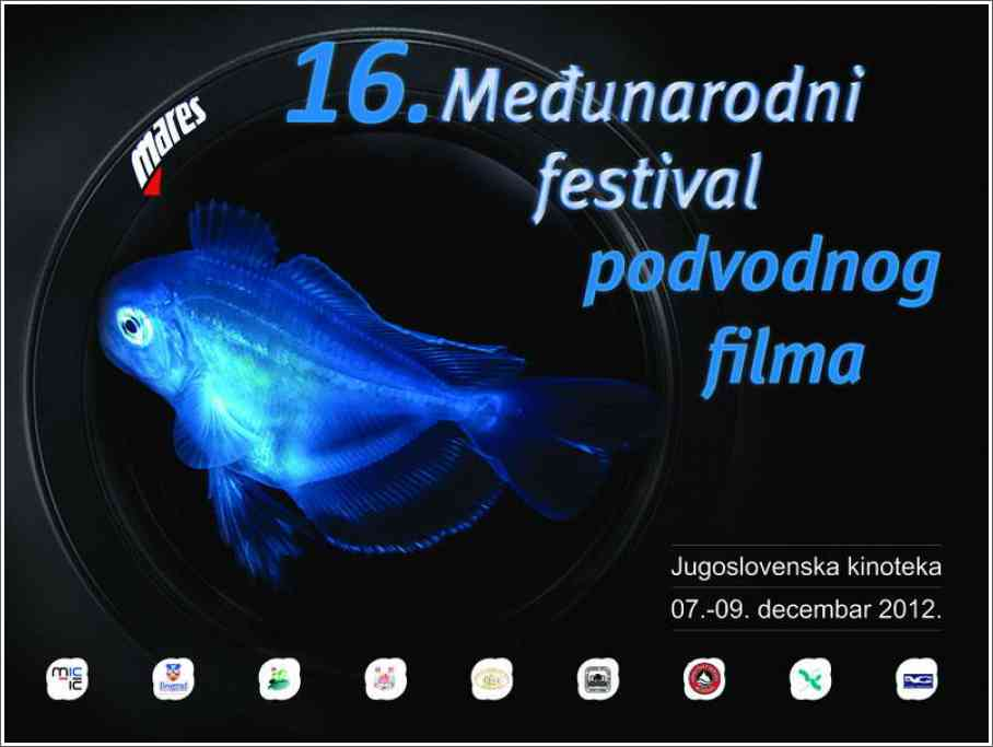 16. MEDJUNARODNI FESTIVAL PODVODNOG FILMA