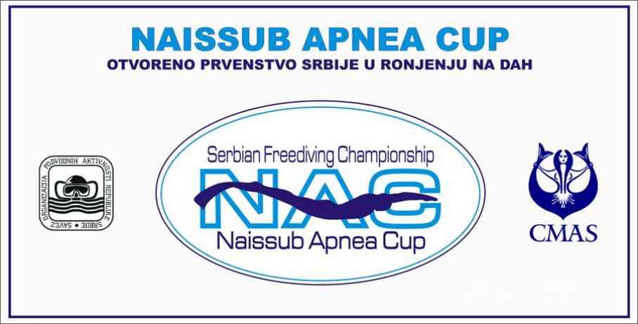 NAISSUB APNEA CUP 2016 - otvoreno prvenstvo Srbije 02. - 03. aprila