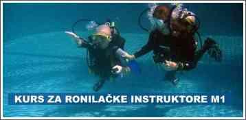 Kurs za ronilačke instruktore M1