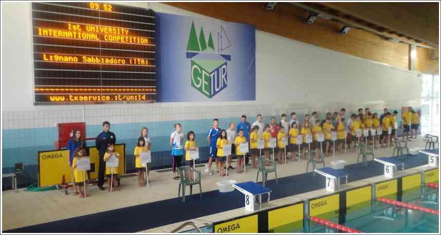 Prvenstvo Evrope u plivanju perajima i brzinskom ronjenju - Lignano 27.07-04.08.2014