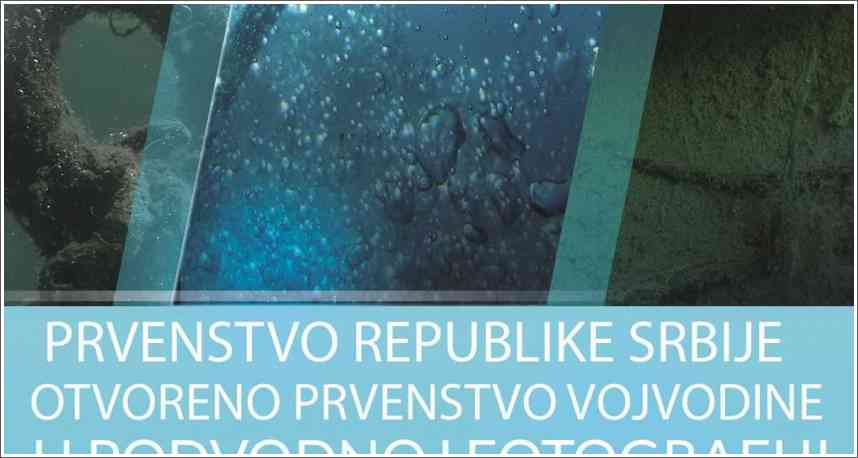 "Poziv na takmičenje u podvodnoj fotografiji ""Bela Crkva 2020"""