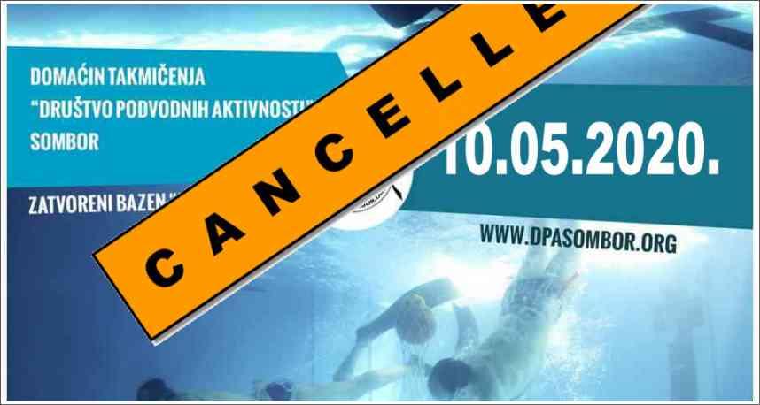 Odgođeno takmičenje - Podvodne veštine - Sombor, 10.05.2020