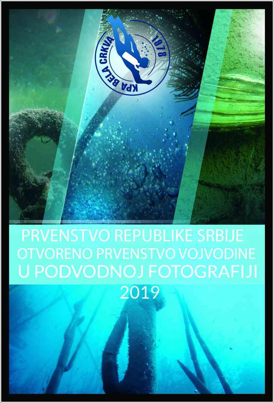 "Poziv na takmičenje u podvodnoj fotografiji ""Bela Crkva 2019"""