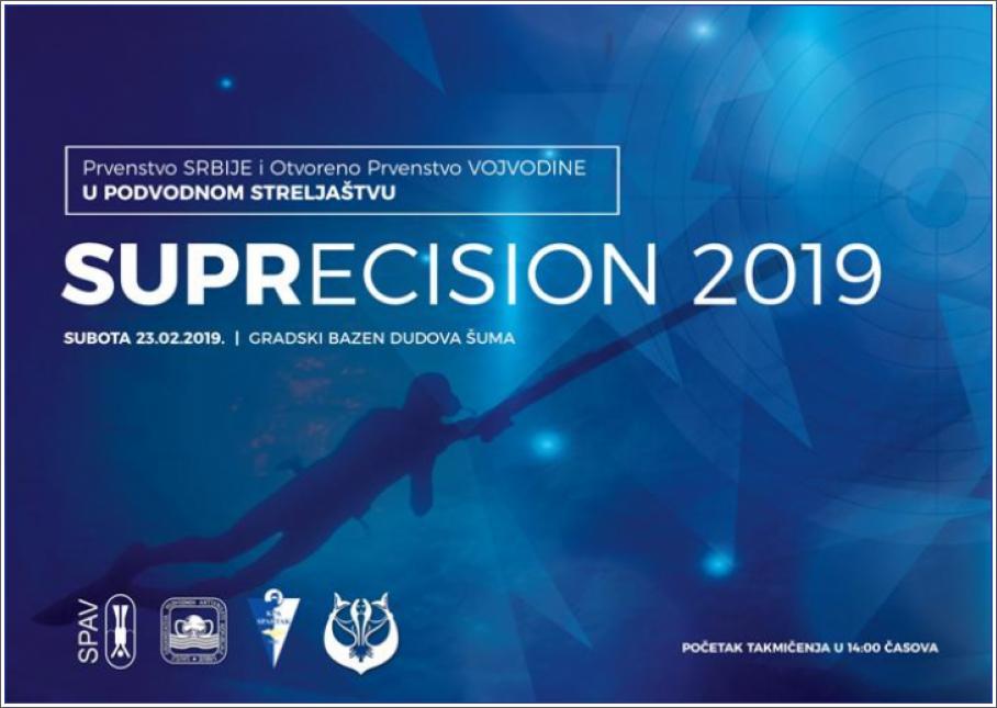 Prvenstvo Srbije i otvoreno prvenstvo Vojvodine u podvodnom streljaštvu SUPRECISION