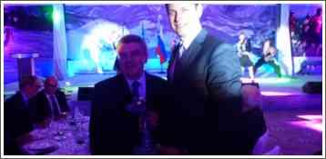 Djordje Visacki sa Predsednikom MOK-a Thomasom_Bahom