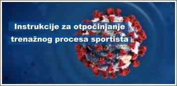 Instrukcije za otpočinjanje trenažnog procesa sportista